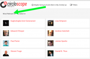 Circloscope Google Plus Circle Manager