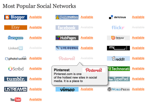 KnowEm Social Branding Search Engine