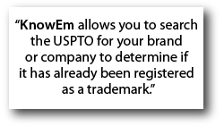 knowem trademark search check your brand or trademark availability