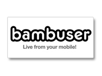 Bambuser: Stream video live from your mobile device right to the web. Alert people when you go live, and ...