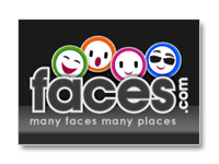 Faces: Faces offers profiles, an email address, a forum, music, videos and an arcade section. Faces.com is ...