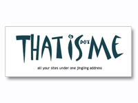 Thatisme: Social Aggregator; All your sites under one jingling address