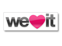 Weheartit: Social bookmarking meets creativity and expression. With this community you can share images that ...